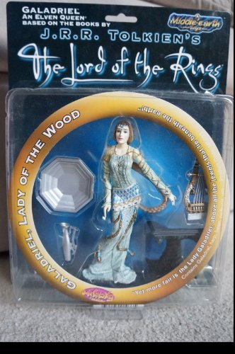 JRR Tolkiens Galadreil The White Lady Elven Queen Action Figure Toy Vault Toy - 1