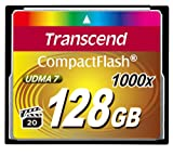 Transcend Information 128GB Compact flash Card - TS128GCF1000 (160/120 MB/s)