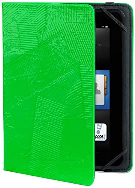 "Verso ""OMG!"" Standing Cover for Kindle Fire HD 7"" (Previous Generation), Neon Green (will only fit Kindle Fire HD 7"", Previous Generation)"