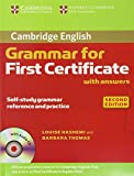GRAMMAR FOR FIRST CERTIFICATE WITH ANSWERS 2ªED (Cambridge Books for Cambridge Exams)
