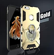 buy Omorro Iphone Se Warrior Soul Case, New Cool Outdoor Outdoor Rigid Cnc Iron Body Frame Bumper Design With Rotary Ring Kickstand Protection Cover Case For Iphone Se Gold