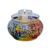 My Art Glass Permanent Aroma Candle Holder (7cm X 15 Cm X 5 Cm)