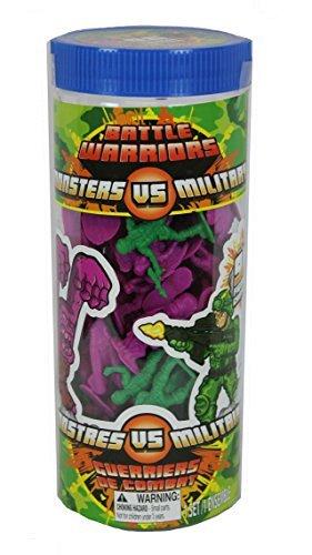 Battle Warriors Monsters Vs Military 96 Figure Set