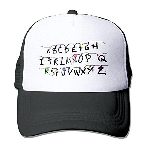 [Stranger lights Truck caps Cool Men Women cap Black (5 colors)] (Sheriff Hats For Sale)