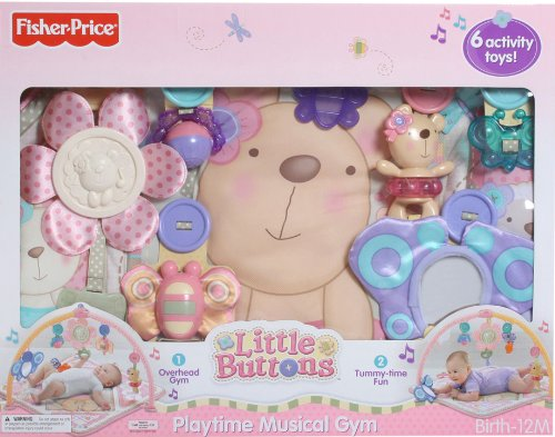 Little Buttons Playtime Musical Gym