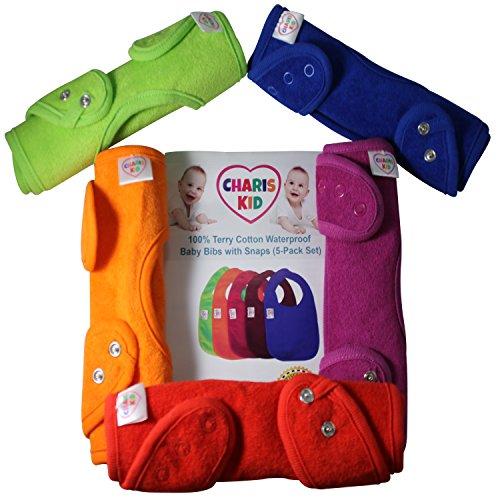 best-bavaglino-neonato-impermeabile-con-bottoni-automatici-per-girls-boys-5-pezzi-impermeabile-denti
