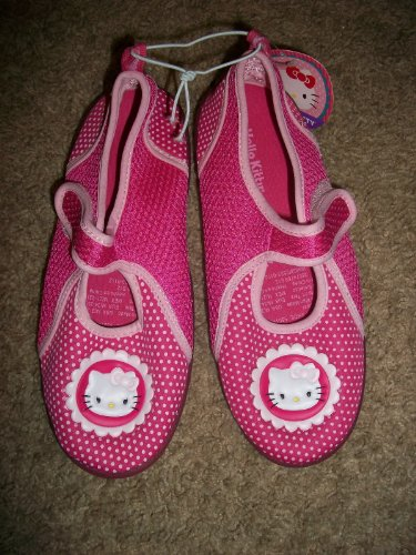 Hello Kitty Girls Water Shoes Sz 4-5 front-908144