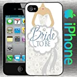 Bride to Be Iphone 5 / 5s Case Wedding Fashion Groom Dress Hard Shell Case