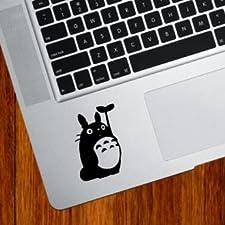 MacBook 対応 アートステッカー スタジオジブリ 隣のトトロ(葉っぱ)並行輸入品