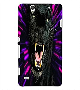 PrintDhaba Jaguar D-4378 Back Case Cover for SONY XPERIA C4 (Multi-Coloured)