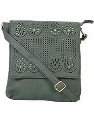 SRI PU Sling Bag (Olive)
