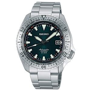 Seiko Herren-Armbanduhr XL Automatik Analog Automatik Edelstahl SARB059