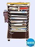 Desk Pocket organizer Hanging Holder Book Storage Bag Box For Student Use
