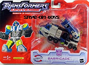 Transformers Universe Robots In Disguise Barricade