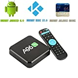 2017-Free-Wireless-Mini-Keyboard-WIIKEE-A96S-Amlogic-S905X-Quad-Core-Android-TV-Box-with-KODI-170-Fully-Loaded-Android-60-2G8G-H265-4K-UHD-3D-WiFi-24G-Unlocked-Google-Streaming-Media-Player