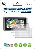 "3x Garmin Zumo 660 665 T LT LM LMT 4.3"" GPS Premium Anti-Glare, Matte Finishing LCD Screen Protector Cover Guard Shield Protective Film Kit (3 Pieces by GUARMOR)"