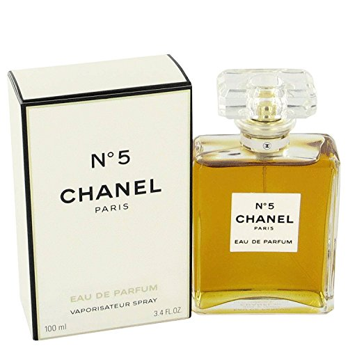 PARIS PERFUME discount duty free Perfume for Woman No 5 Eau De Parfum Spray 3.4 Fl, Oz