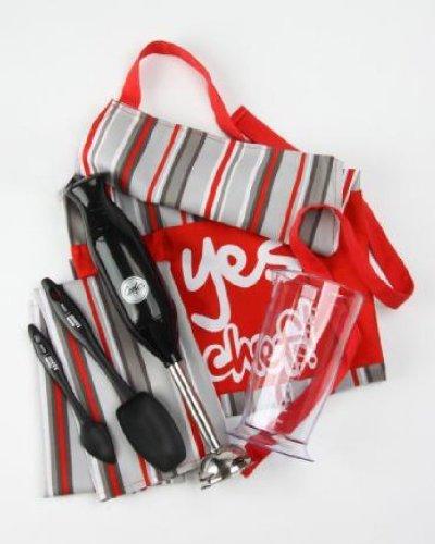 BNIB - Gordon Ramsay Cooks Hand Blender, Apron, Towel Set - Perfect Xmas Gift