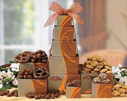 Send Fresh Cut Flowers - Rocky Mountain Tower Mixed Gift Basket