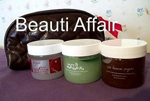 BeautiControl Instant Manicure Mini Set-Salty Margarita, Spa Brown Sugar & Sugar & Spice