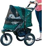 Pet Gear Jogger No-Zip Pet Stroller, Forest Green