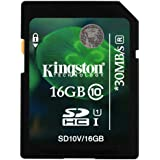 Kingston 16GB Class 10 SDHC Memory Card For Canon Powershot SX150 is Digital Camera