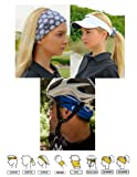 UV Half Buff - Colure Blue Outdoor Sun Wind Protection Head Cover Headwear