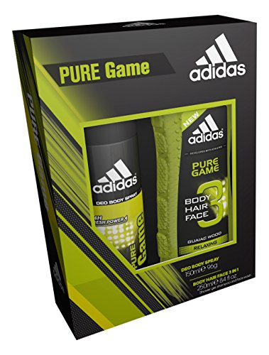Adidas Pure Game Spray Corpo E Gel Doccia Duo