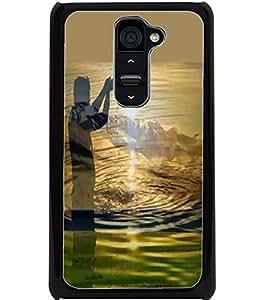 ColourCraft GOD SUN Devotion Design Back Case Cover for LG G2