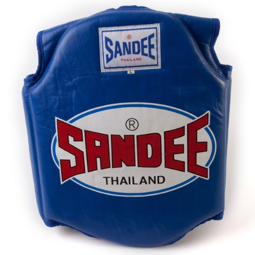 Sandee - Body Shield - Blue - Size S (For Boxing, MMA, UFC, Muay Thai)