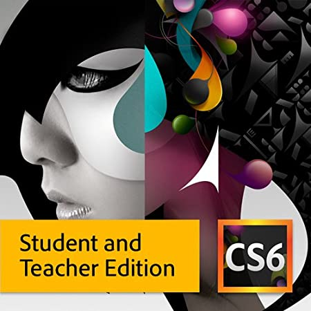 Adobe CS6 Design Standard Student and Teacher Edition [Download]
