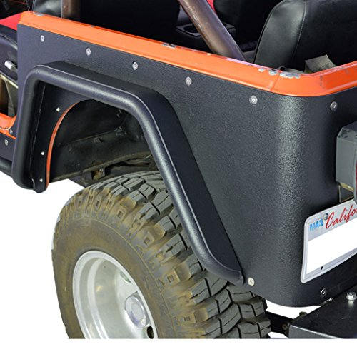 Metal E-Autogrilles Off Road CJ Rear Fender Flares 76-86