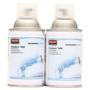 Rubbermaid Commercial Products TEC 4012441 Microburst 90009 Air San I Met Arosol Linen Frsh