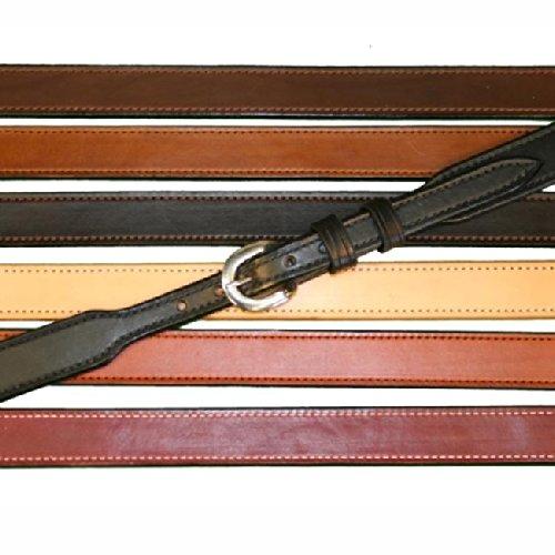 "Tucker And Byrd 39"" Tapered 1 1/2"" Gun Belt Dark Brown Chrome"