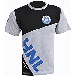 Mens Designer Top Round Neck Short Sleeved Stylish Casual Summer T-shirt Tee from Day & Night