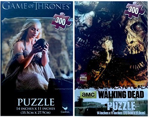 Game of Thrones & The Walking Dead Puzzle Set - 1