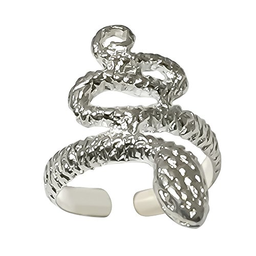 Sterling Silver Snake Toe Ring (Snake Ring Sterling Silver compare prices)