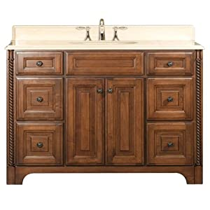 Water Creation Spain 48 Spain Collection 48-Inch (49-Inch with Countertop) Single Sink Bathroom Vanity Set