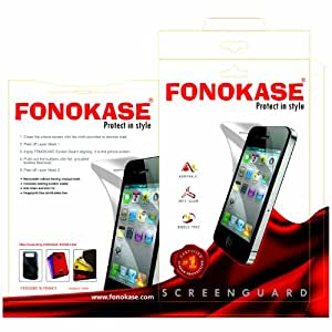 Fonokase Tampered Glass Clear Finish Screen For Samsung Note 2