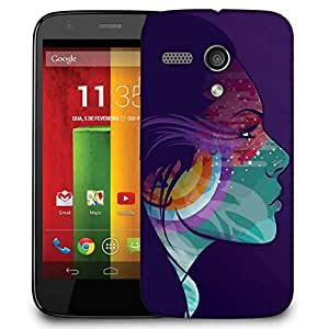 Snoogg Tattoo Lady Case Cover For Motorola G / Moto G