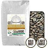 White Knight Light Roast OFT, Whole bean coffee, Fresh Roasted Coffee LLC. (2 lb.)