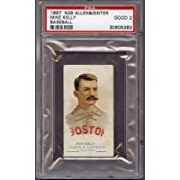 1887 N28 Allen & Ginter Mike King Kelly Red Sox PSA 2 GD 212779 Kit Young Cards