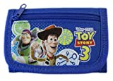 Disney Blue Trifold Buzz and Woodys Adventure Toy Story Wallet - Kids Toy Story Wallet