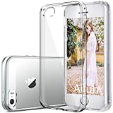 iPhone 5S case,by Ailun Shock-Absorption Bumper TPU Clear cover iphone 5s case[Crystal Clear]