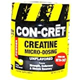 Con-Cret Creatine with Micro-Dosing Unflavored 48 servings, 1.27 Ounce Tub