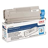 Cyan Toner Cartridge for Okidata C5