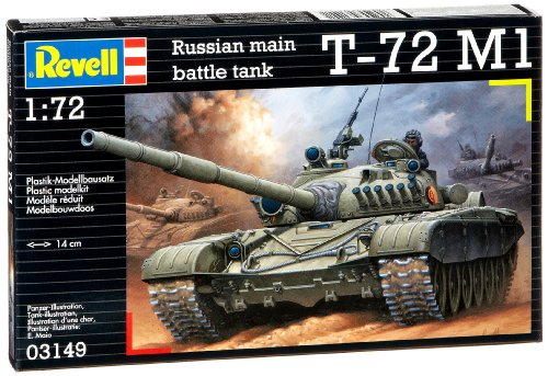 1:72 Scale Soviet Battle Tank T-72 M1 03149 By Revell