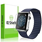 IQ Shield liQuidSkin [6 Pack] - Apple Watch 38mm Screen Protector with Lifetime Replacement Warranty - High Definition (HD) Ultra Clear Smart Film - Premium Protective Screen Guard - Extremely Smooth / Self-Healing / Bubble-Free Shield - Kit comes in Frustration-Free Retail Packaging