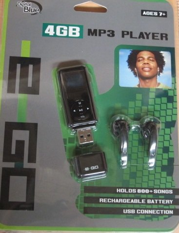 ego 4GB MP3 Player