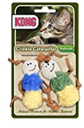 KONG Naturals Crinkle CATERPILLARS Cat Toy (CW45)